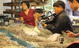 Korean Four Rivers filmakers visit LRRD