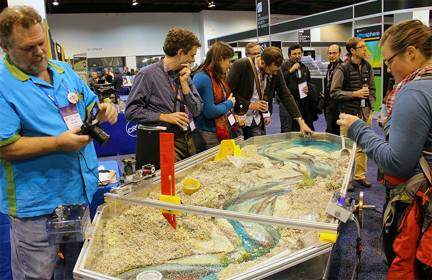 'Beyond the Stream Table' and 'Using the Emriver Em2' at GSA 2014 Vancouver