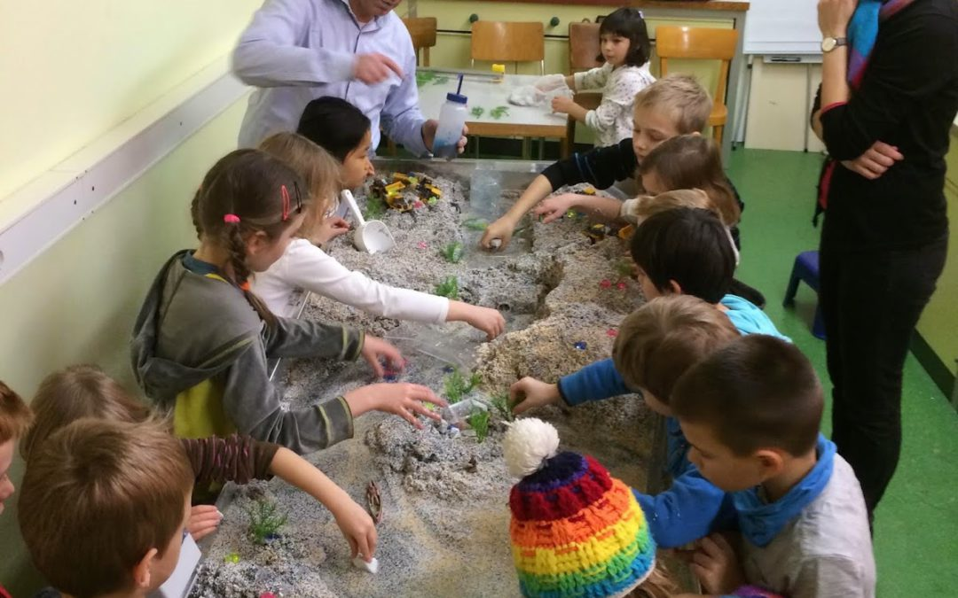 Kids' Lab at the University of Basel Explores River Science
