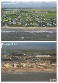 USGS Ike damage assessments.