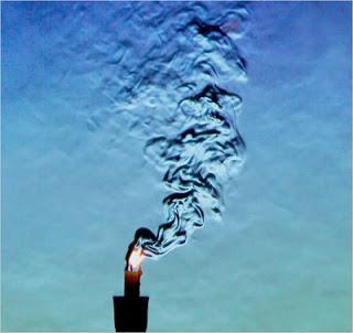 Schlieren photography and fluid mechanics.