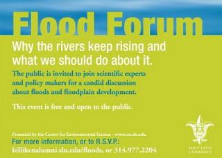 St. Louis flood forum Nov. 11.