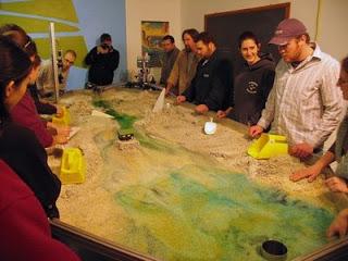 SIUC stream ecology class meets the Em4.