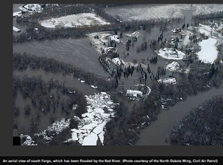 Fargo flooding, an ominous forecast, and a long history.