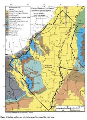 Lawsuit over Memphis pumping of the Sparta Aquaifer.