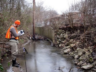 Urban stream work with Inter-fluve.