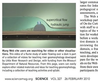 LRRD videos get a mention in Science.