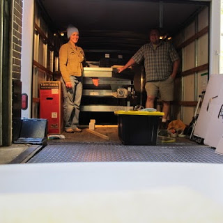 Off to GSA – Denver with a truck full of Em4 model!