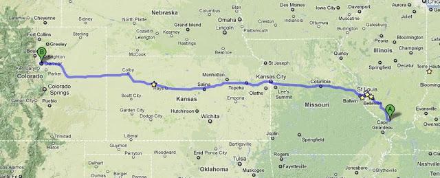 Driving the Em4 to Denver!