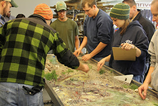 SIUC students in the LRRD lab