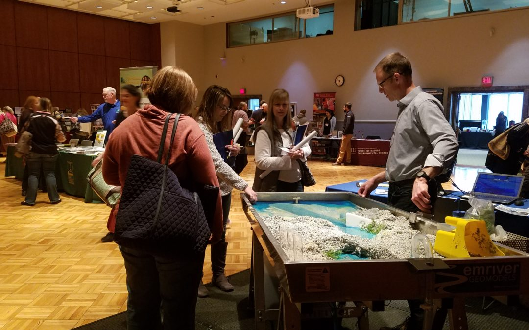Science in the South at SIU – Em2 stream table