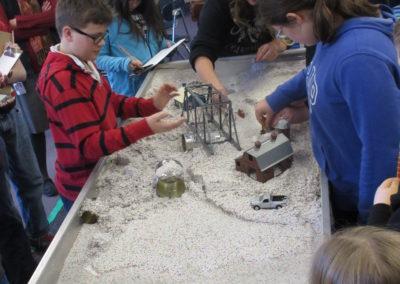 Sullivan County Conservation District Em2 stream table classroom